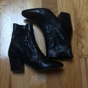 Asks Black Ankle Booties size 9